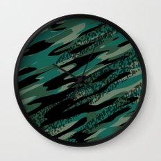 Turqjag Camo Wall Clock