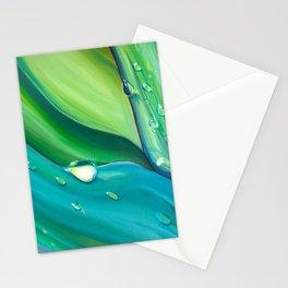 Hosta Leaves Stationery Cards