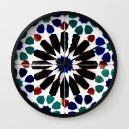 Time-worn tiles Wall Clock