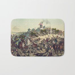 Civil War Battle of Nashville December 15-16 1864 Bath Mat