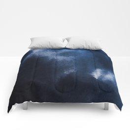 Watercolor Blue Comforters