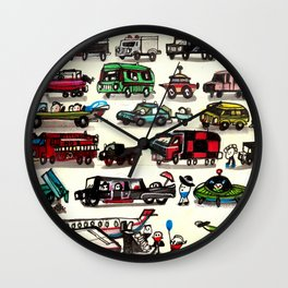 On Our Way. Wall Clock