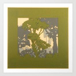 Treehouse 1 Art Print