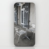 cafe iPhone & iPod Skins featuring Cafe by David Turner