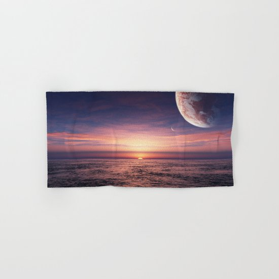 Ocean pastel Hand & Bath Towel