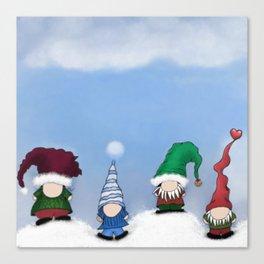 The Gnome Posse Canvas Print