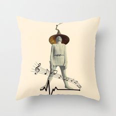 music for life Throw Pillow