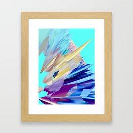 Saphir Framed Art Print