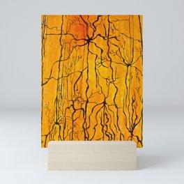 Neural Activity (An Ode to Cajal) Mini Art Print