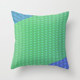 Folded pattern Throw Pillow