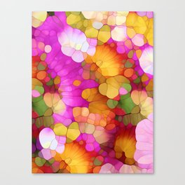 Happy Colors - Soul Vitamins Canvas Print
