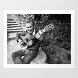 Flamenco Callejero Art Print