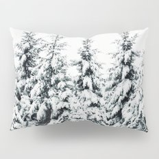 Snow Porn Pillow Sham