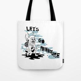 Lets Go Adventure Tote Bag