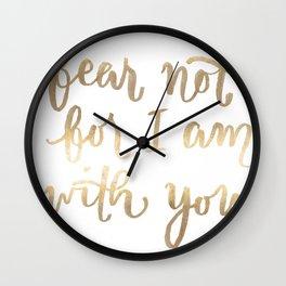 Fear Not Wall Clock