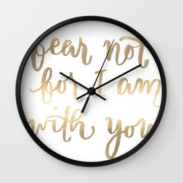 Fear Not Wall Clock