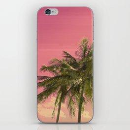 VHS Palms iPhone Skin