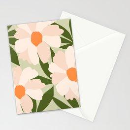 Freya's flower - greenery Stationery Cards