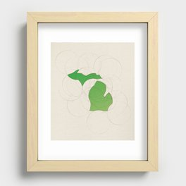 Michigan 26 Recessed Framed Print