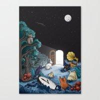 wonderland Canvas Prints featuring Wonderland by Robert Richter – Artist & Illustrator