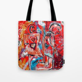 Some things are better left unexplained Tote Bag