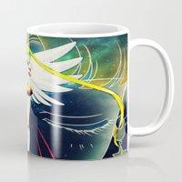 sailormoon Mugs featuring Sailor Stars Moon by MivMusse