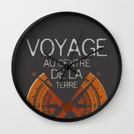 Books Collection: Jules Verne Wall Clock