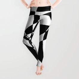abstract design by David F Horton Leggings