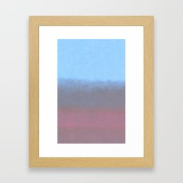 water color Framed Art Print
