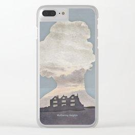 Emily Brontë Wuthering Heights - Minimalist literary design Clear iPhone Case