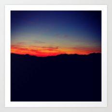 Biltmore Sunset Art Print