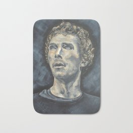 Hamlet Acrylic Painting on Canvas Bath Mat