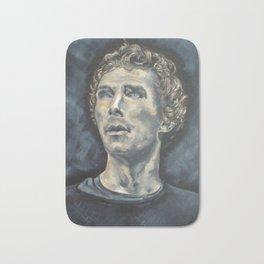 Hamlet Acrylic Painting on Canvas Bath Mat