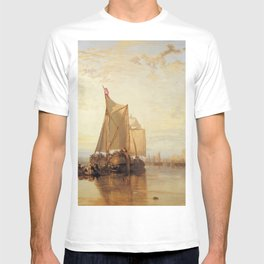 """J. M. W. Turner """"The Dort Packet-Boat from Rotterdam Becalmed"""" T-shirt"""