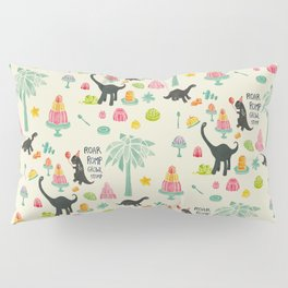 Jellosaurus Rex: Jello Dino Party Pillow Sham