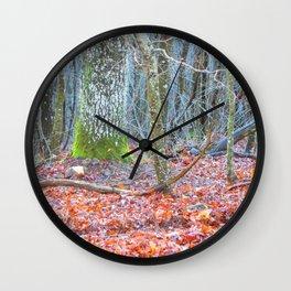 Fairy Wood Wall Clock