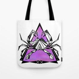 Cancer zodiac sign geometric Tote Bag