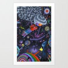 Node in the Noosphere Art Print