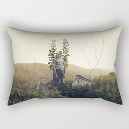 Forest Angel Rectangular Pillow