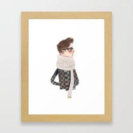 samuele Framed Art Print