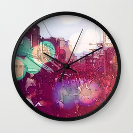 In the market  Wall Clock