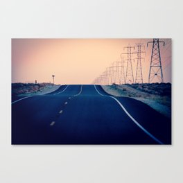 Lost Highway Canvas Print