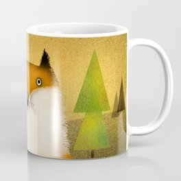 FOX IN WOODS Coffee Mug