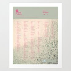The Visual Mixtape 2010 | Blue Screen Life | 18 / 25 Art Print