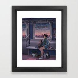 Painted Skies Framed Art Print