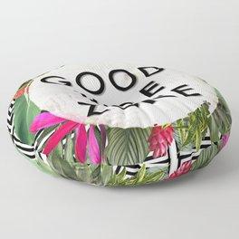 (((( Good Vibes )))) Floor Pillow