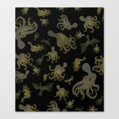 Baby Octopi Canvas Print