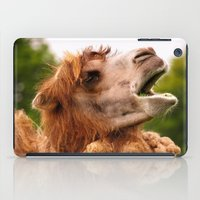 camel iPad Cases featuring Camel by GardenGnomePhotography