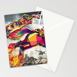 Hourse in WAR Stationery Cards