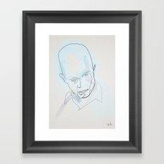 Oner Line T1000 Framed Art Print